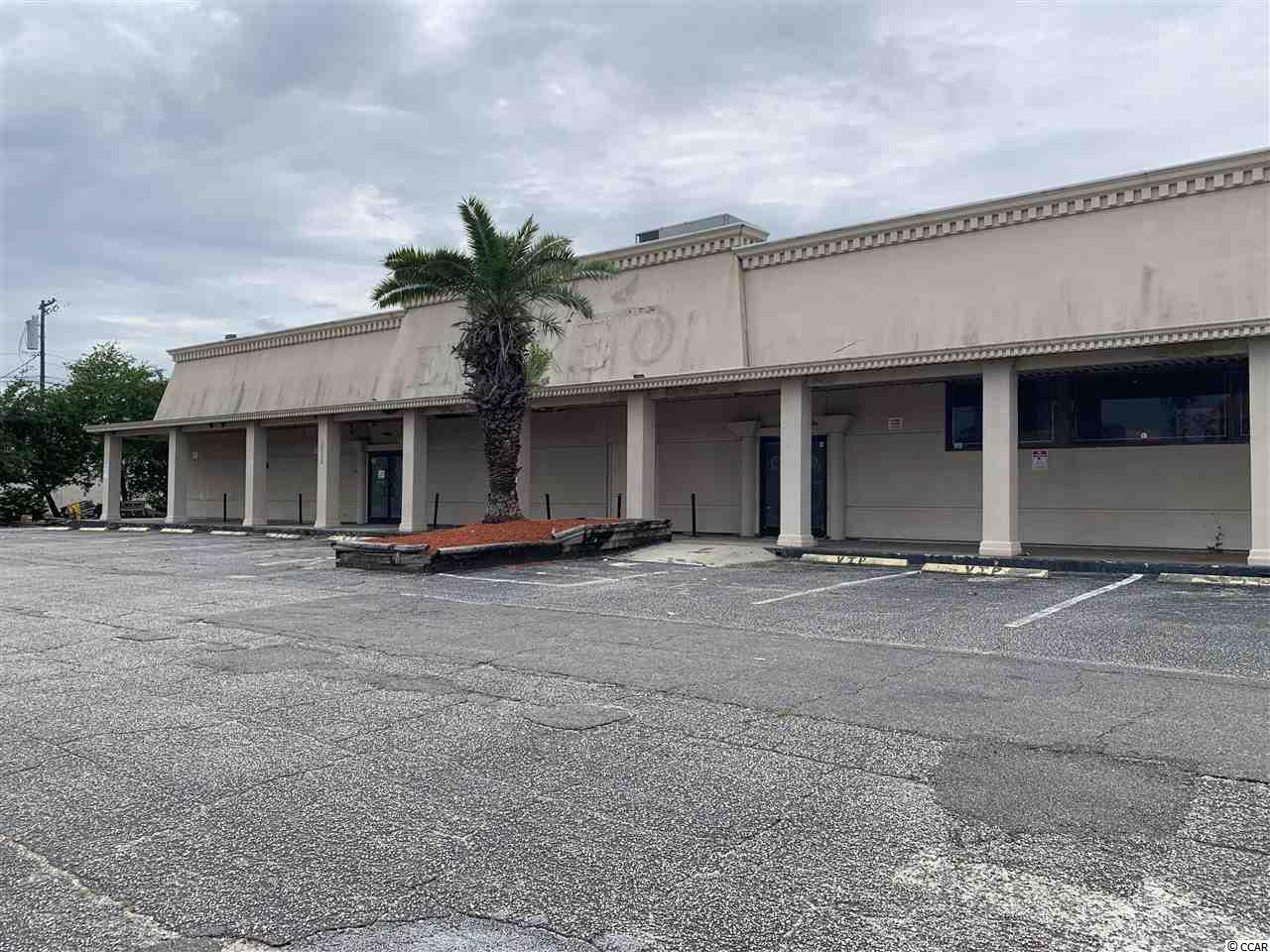 185 ft of Highway Frontage with a traffic court for 2017 approx. 26,000. Property is for lease or sale. Building has Approx. 15,872 Sq. ft. inside the building. 95 parking spaces. Less than 1/4 mile to the ocean. Easy access. The building was being used as a warehouse.