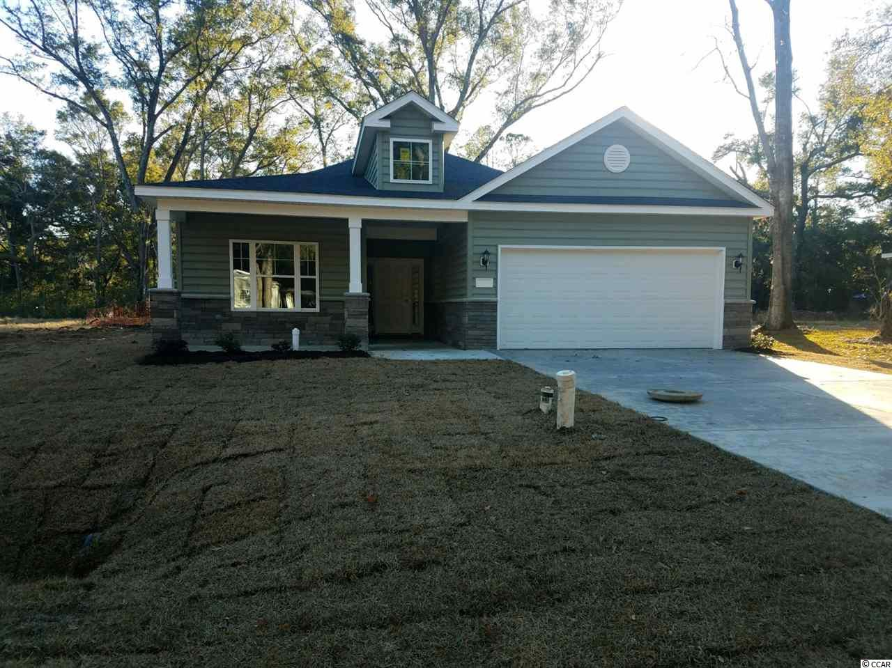 This is your opportunity to own a Brand New Home ,on DEEDED LAND, in PAWLEYS ISLAND With NO HOA! Enjoy the old oak trees, and quaint Pawleys Island setting.Enjoy the rocking chair porch, gourmet Kitchen equipped with stainless steel appliances, upgraded cabinets, granite, ceramic tile floors. Hardwood Flooring, carpet in the bedrooms. This home is almost complete and ready for Move In! Motivated Seller- buyers incentive available! Agent on Duty Mom,Thurs-Sun, Tues&Wed by appointment.