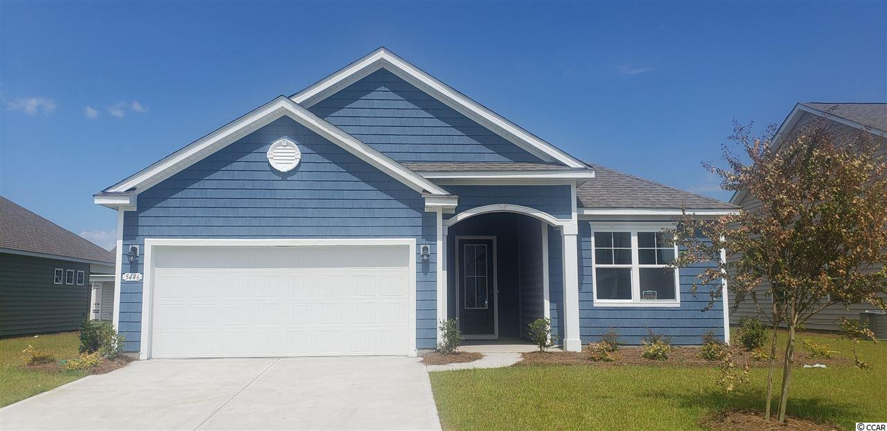 """New master-planned community by DR Horton in popular St. James school district. Community offers pool, fitness room, open air pavilion/clubhouse, and food prep room by the pool, playgrounds, fishing dock in one of the many community lakes, sidewalk/walking trails throughout! Jump in the car and you're less than 10 minutes to the beach or the shopping & restaurants nearby.  LOCATION, LOCATION, LOCATION!  Close to everything, but outside of the hustle and bustle!  IT'S A LIFESTYLE!  ENJOY LIFE!  Pool & amenity center with workout room included in the cost of the HOA.  Don't just vacation here – live here!  You've got to see this owner's suite!  This is the popular Eaton plan: an open 3 bedroom, 2 bath ranch. Wood floors are located throughout the home, with tile in wet areas and carpet in the bedrooms. Fabulous walk-in pantry, upgraded granite countertops and island with breakfast bar. 36"""" staggered maple cabinets and upgraded pendant lighting in kitchen. Stainless kitchen appliances are standard. Owner's suite offers a large walk-in closet, 5 ft. walk-in shower, double vanity and sinks.  Sliding glass doors lead to a huge covered patio overlooking a beautiful pond!      Home and community information, including pricing, included features, terms, availability and amenities, are subject to change and prior sale at any time without notice or obligation. Square footages are approximate. Pictures, photographs, colors, features, and sizes are for illustration purposes only and will vary from the homes as built.  Equal housing opportunity builder."""