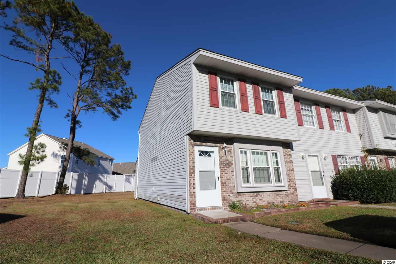 This 2 bed 1.5 bath townhome end-unit sits in an outstanding location in the Deerfield area of Surfside Beach! Minutes from the ocean, dining, nightlife, and all the southern end of Horry County has to offer. Great rental potential!