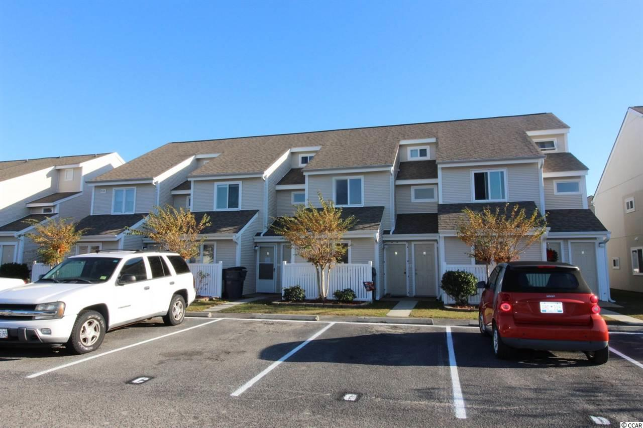 This 2BR/2BA top floor, unit has numerous upgrades and extras – ready for you to move-in and start enjoying your new home in the Coastal Carolinas. New laminate flooring & nicely decorated. Upstairs master bedroom suite is enclosed offering complete privacy. Living room has vaulted ceilings and sky-lights with retractable shades. Kitchen features granite countertops, stainless steel appliances, smooth top stove built-in microwave. Conveniently located Villas on the Green in Deerfield, approximately 1 mile to the Atlantic Ocean. This unit would make a nice vacation retreat, primary residence or to generate rental income. Just a short stroll to the community pool. Close to retail, restaurants, the airport and all the amenities that the South Strand has to offer.