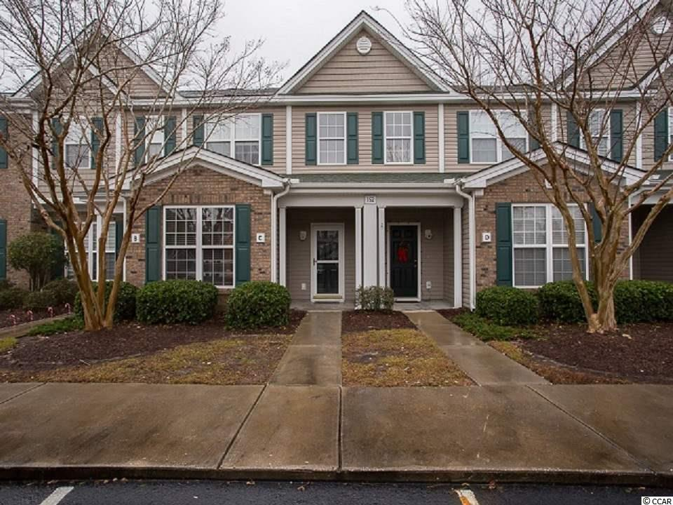 This 2 bedroom 2 1/2 bathroom townhome is move in ready and features a first floor master bedroom. The entire unit has been newly painted and new carpet throughout. The heating and air conditioning unit was replaced 1 1/2 years ago and there is a new disposal. Conveniently located in Murrells Inlet and it is close to shopping, minutes from the beach and Murrells Inlet Marshwalk. Great for permanent residence, a 2nd home or an investment property. Call for a showing today! Square footage is approximate and not guaranteed. Buyer is responsible for verification.