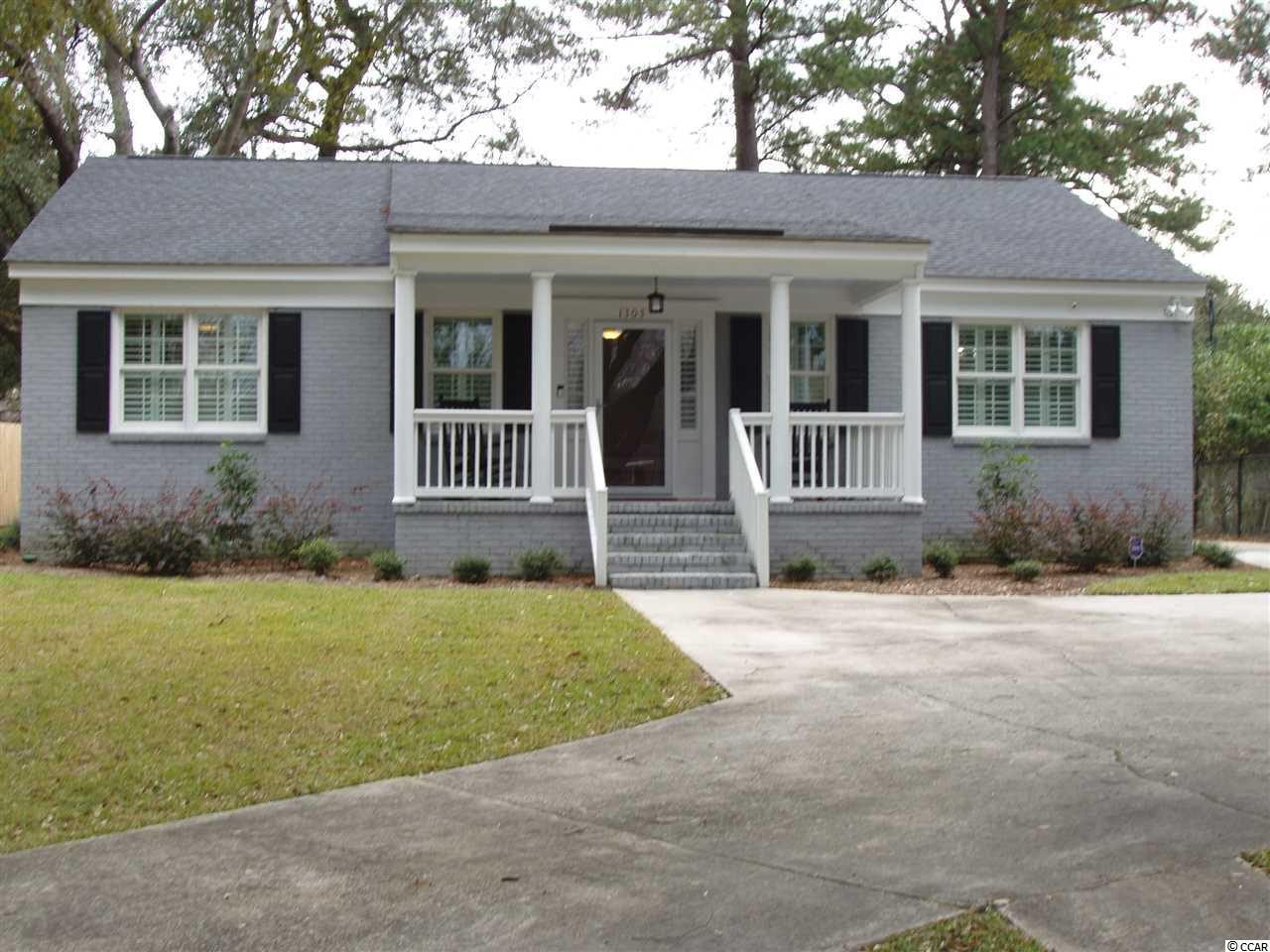 Newly renovated all brick home, roof one year old, located ten minutes from Pawleys Island Beach. No monthly hoa fee. Within one mile from grocery stores, doctors office, Walmart and historic downtown district. Georgetown is located on Winyah Bay and has 60,000 population in the county.