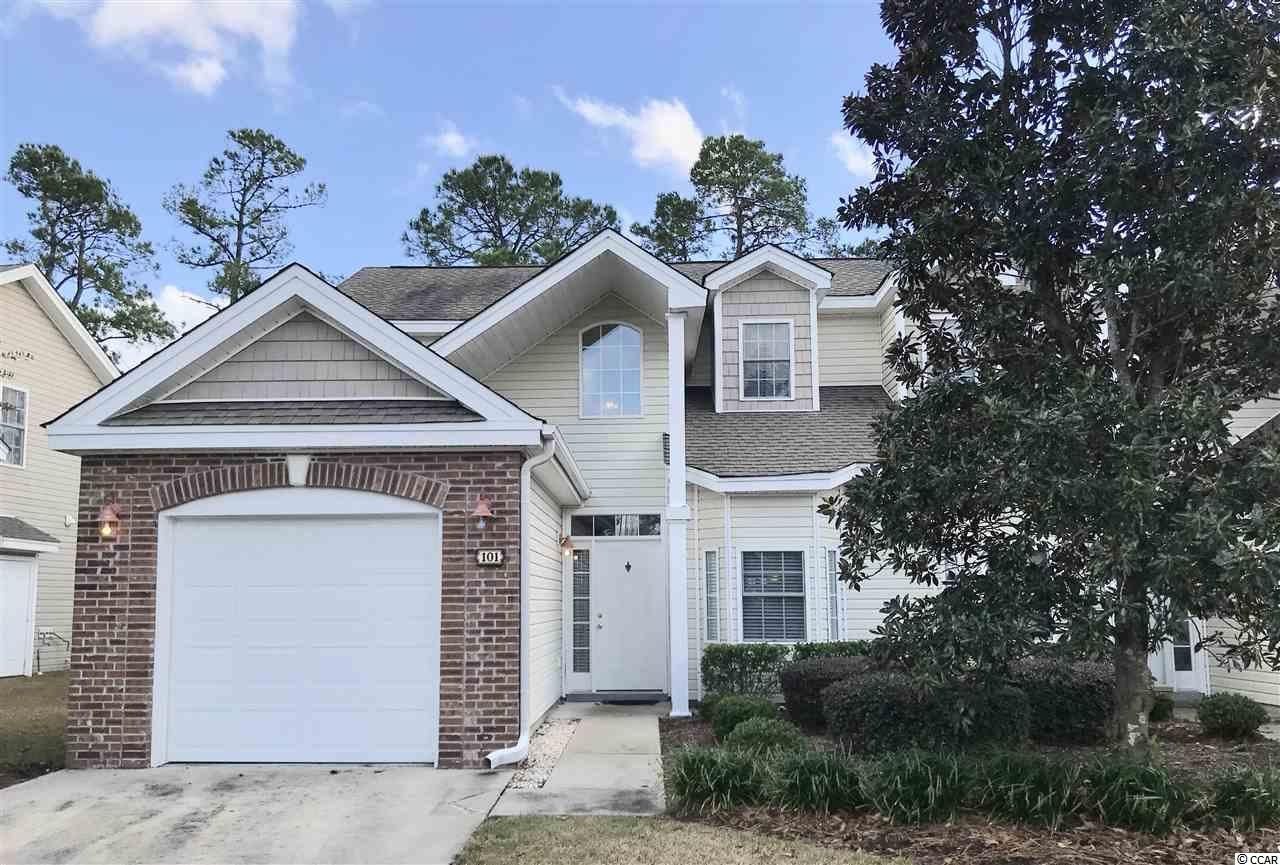 This Home is an Absolute Hidden Gem with all the 3 L's… -LOCATION: Close to US 501 and all of the Shopping and Dining it has to offer. -LOCATION: Close to Conway and its Charming Downtown as well as CCU and HGTC. -LOCATION: Less than ¼ mile to Burning Ridge Golf Course & 9 Miles to Beach. Your just never far from anything you want to do. Willow Trace is a Quiet Oasis of just 44 Townhouse Condo Units with its own Pool. This spacious 2-Story, 3BR/2.5BA Home features an Open Floor Plan with Plenty of Wow Factor! The Large Great Room featuring 18.5-foot Cathedral Ceilings and 2nd Story Windows that lets in plenty of Natural Light. There is also a Gas Fireplace and Ceiling Fan. A Dining Area is also incorporated into this room. The Kitchen looks into the room and comes with a Bar Height Counter and Plenty of Cabinets. It too has a Cozy Breakfast Nook. The Large 1st Floor Master Bedroom has an attached Bathroom with Double Sinks, Separate Shower, Whirlpool Tub and Walk-Closet. The 1st Floor also has Combination Half-Bath and Laundry Room, Plus a Large Storage Closet under the Stairs. At the top of Stairs is an 8 X 10 Flex-Use Loft that Overlooks the Great Room Below. There are two more Bedrooms and a Full Bathroom with a Tub/Shower Combo. Through the back doors is a Covered Patio and Private Walled Courtyard. There is also an Attached 1-Car Garage and Driveway. Only used as a 2nd Home. Schedule a Showing Today! This Gem Won't be on the Market Long!! All Measurements are Approximate and Not Guaranteed. Buyer is Responsible for Verification.