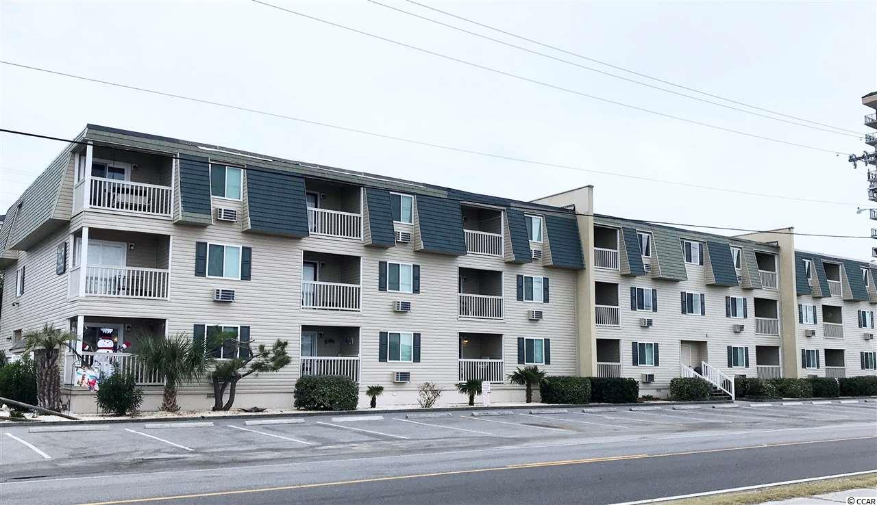 This charming, fully furnished, 2 bedroom, 1 bathroom condo is located in the heart of Cherry Grove and is a must see! This condo is second row from the ocean. The balcony shows a beautiful glimpse of the ocean. With easy and quick access to all the shops, restaurants, golf courses, and entertainment North Myrtle Beach, SC has to offer. Buyer are responsible for all measurement verification.