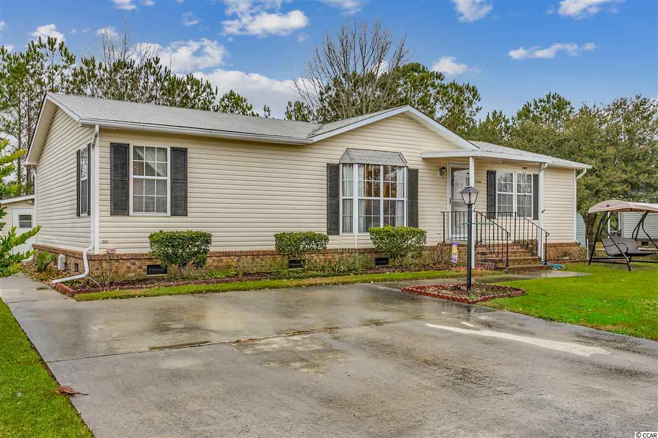 MOTIVATED SELLER!!!In the beautiful Country Lakes community, this 3 bedroom, 2 bath split floor plan home is one for your list. With vaulted ceilings, large screened porch, and 12x12 storage shed in the back, you can enjoy all that this community has to offer at an affordable price. Country Lakes is a gated, 55+ community with a pool, club house, weight room and plenty of social activities only minutes to Cherry Grove Beach.