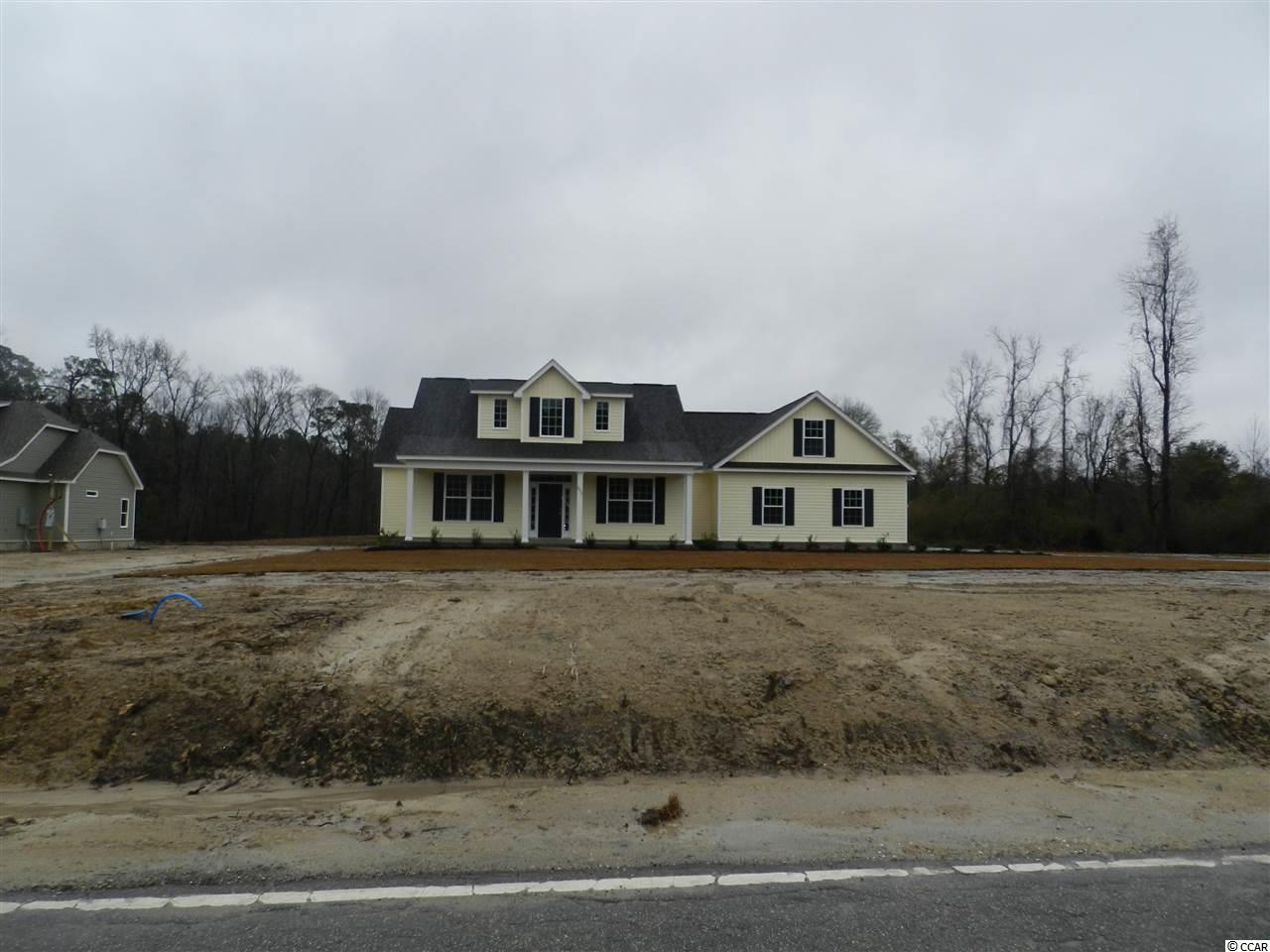 New construction! This beautiful three bedroom, two full bath custom home on a huge lot, minutes from downtown Conway! Fantastic floor plan with a huge breakfast bar, staggered-height birch cabinetry and stainless appliances in the open kitchen and a formal dining room. The private master retreat is tucked on its own hallway and features a tray ceiling, an oversized walk-in shower, a huge walk-in closet, and a linen closet. Two generously sized guest bedrooms and a bath. Photos are of a completed, similar home in another neighborhood and may have different features.