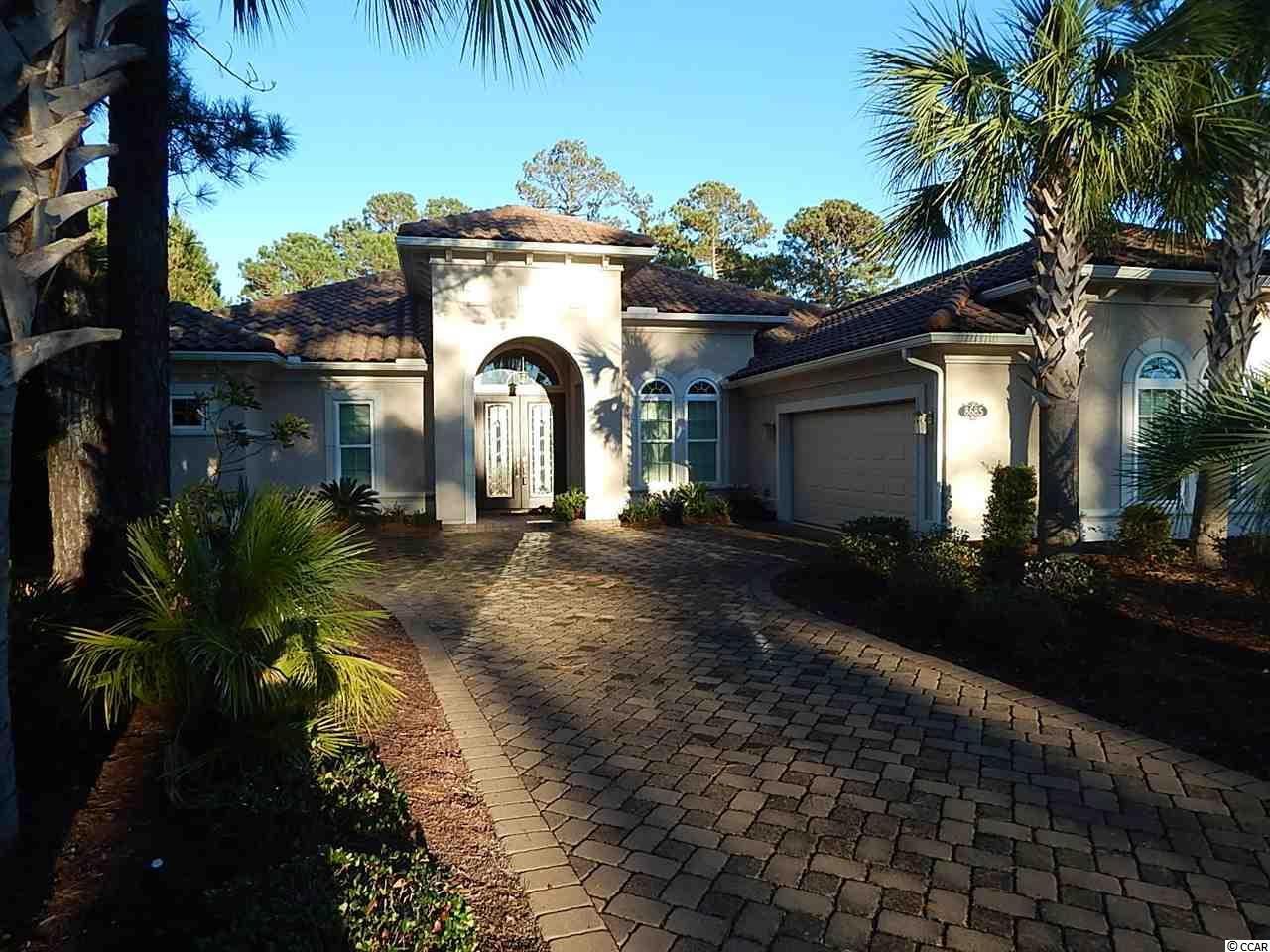 Located in prestigious GRANDE DUNES, this custom built 3 bedroom, 3 bathroom ARTHUR RUTENBERG home is a work of art. Built in 2013, this home has been meticulously maintained and shows beautifully. In addition to the 3 bedroom split plan, there is an office which could function as a 4th bedroom with its own bath. The kitchen features top of the line stainless steel appliances, with granite countertops throughout. Tumbled marble backsplash is accented with its own lighting. The home has a formal dining room, with more informal breakfast nook, and seating along the outside of the island in the kitchen. Master bedroom suite has its own door leading to a screened patio. Master bath has both a walk in shower and Jacuzzi style bathtub. There is a huge walk in closet. Huge 2 car garage offers your vehicles protection from the elements. Corner lot location with only one adjacent neighbor. Grande Dunes amenities include Grande Dunes Beach Club, Golf, & Tennis. You simply can't go wrong with the best! Call today to view!