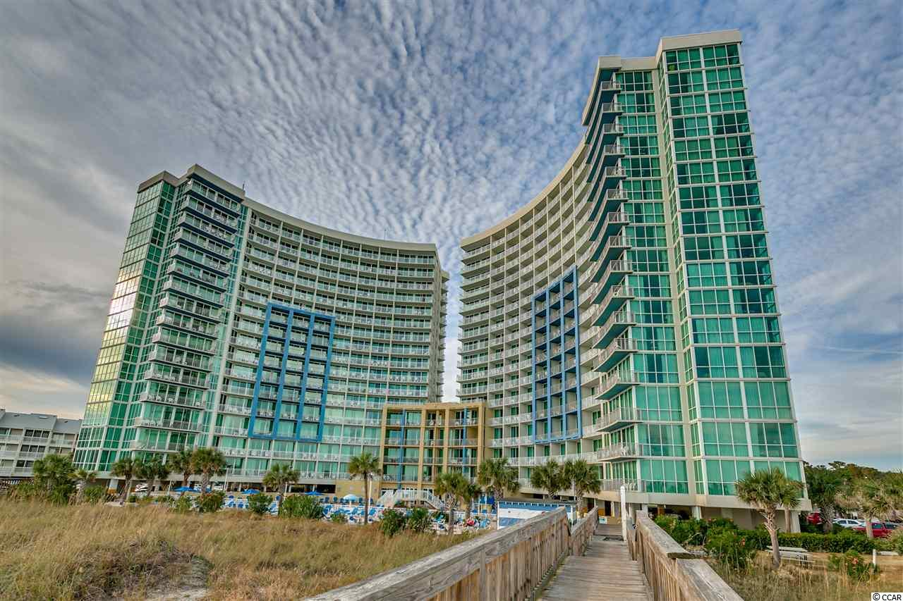 Fantastic true 1 Bedroom 1 Bath condo in the desirable Avista Resort. This unit gives enough space with a queen size bed and murphy bed which will sleep enough for the entire family. Upgraded kitchen with granite countertops and full size appliances including a refrigerator, stove/oven, microwave, and dishwasher as well as the unit is equipped with it's own washer and dryer. Fantastic oceanviews from your enlarged balcony giving you all the peace and quiet you need. This unit is a fantastic rental and the perfect family vacation unit. Resort amenities include indoor heated pools, hot tubs, lazy river, outdoor pool, fitness center and many more. This resort is centrally located in North Myrtle Beach which gives you a short walk to Main St. and the OD. Also you are within a short drive to all the areas attractions, entertainment, shopping and restaurants.
