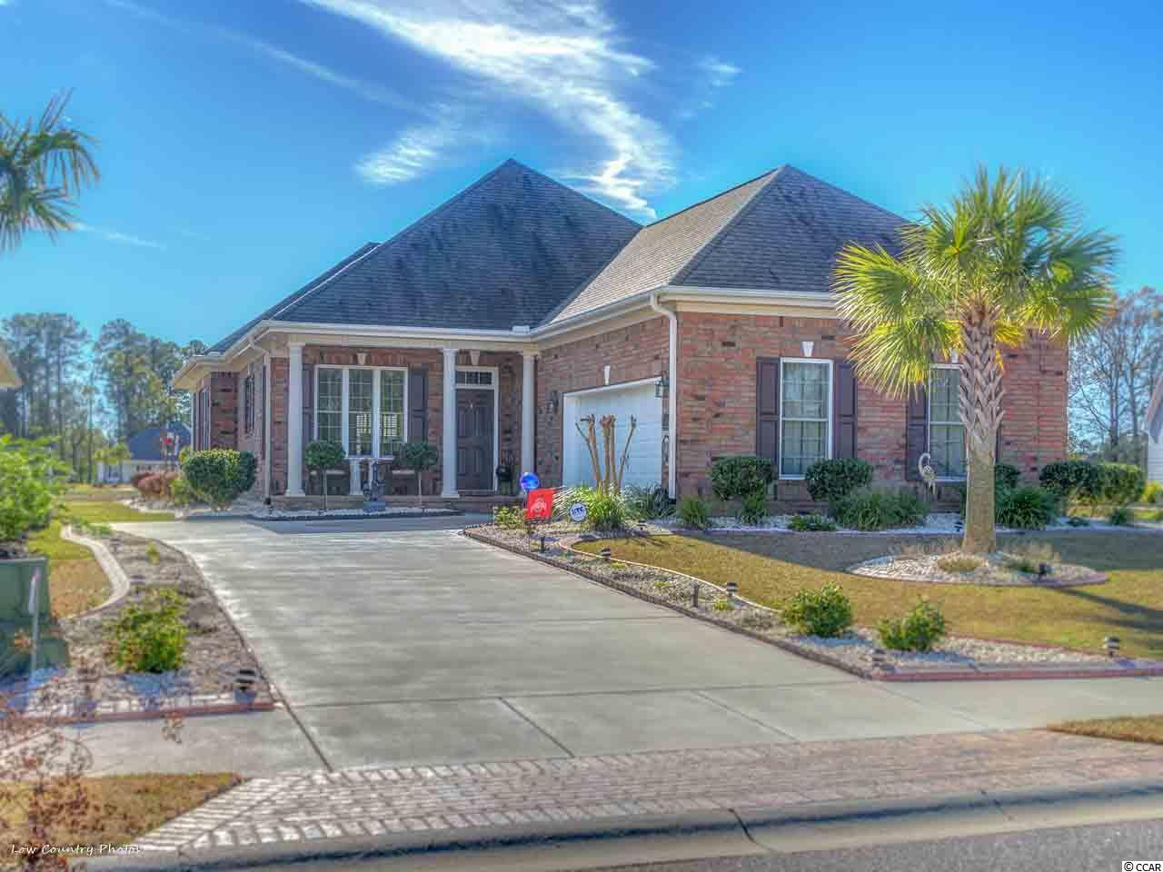 Incredible opportunity to own a wonderful custom built home in the highly sought after secluded and prestigious community of Wild Wing Plantation. This 3-bed, 2.5-bath open and airy beauty on .25 acre cul-de-sac lot like new home has top of the line features including but not limited to; custom tile work though-out, top end stainless steel appliances, high end security system, surround sound in multiple rooms for music, vaulted and tray ceilings, quartz counter-tops and newly installed Natural Gas for range and outdoor grill and much more. Large Master Bedroom Suite with 2 walk-in closets, spacious Jack & Jill bathroom, Gourmet Kitchen, Formal Dining Room, Beautiful chandelier, Electric Fireplace (can easily be hooked up to Natural Gas), Ceiling Fans throughout, a front porch, and large Screened-in Back Porch with additional patio, big back yard for possible pool or entertaining, 2 car side load garage, tons of attic space, new hot water tank with on demand hot water circulator , Mature landscaping with new flower beds and curbing. Gutters installed recently. This home is in pristine condition and would be the perfect home for anyone looking for a great neighborhood and quality community amenities and activities to include: Several Lakes, a large dock for your boat, 2 Pools, Children's area with multiple water features, hot tub, Tennis and Pickle Ball Courts, Basketball Courts, Exercise Room and of course Wild Wing's Championship 18 and 9 hole Golf Courses with onsite Clubhouse and onsite restaurant. Close to shopping, entertainment, restaurants, beach and all that the Grand Strand offers! Put this home #1 on your list to see it won't last long.