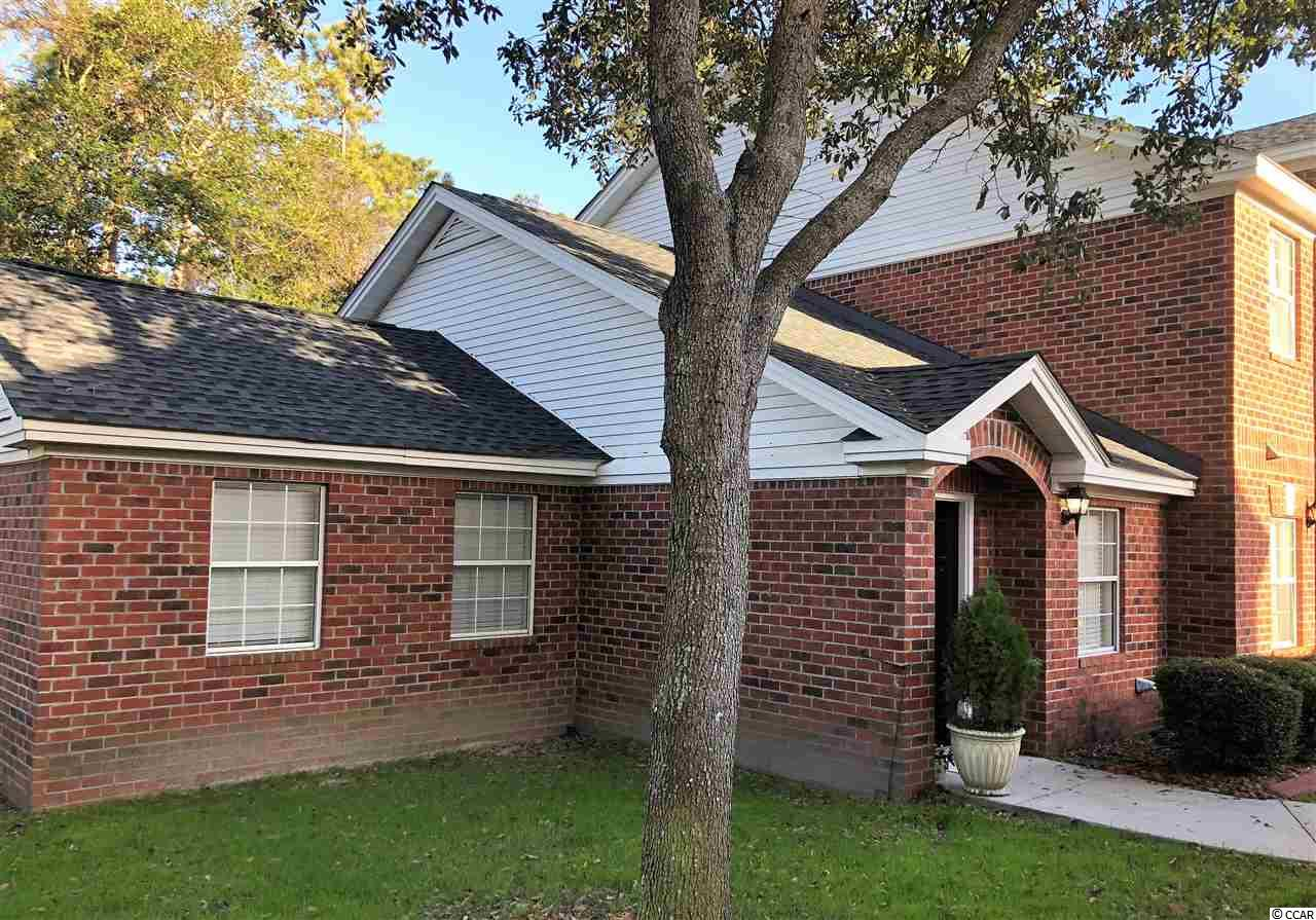 Completely updated end-unit located in the small, all-brick community of Hillside Commons in the popular Ocean Drive section of North Myrtle Beach! This home has NO stairs or steps and is only 3 blocks from the beach with LOW homeowners dues! NEW HVAC and waterheater in 2016 and NEW kitchen cabinets, countertops, stainless Maytag appliances in 2017. Ceramic tiled flooring thru-out and laminate in bedroom. Good storage space includes outdoor closet on rear patio. NEW roof and parking lot resurfacing in 2017 plus golf carts are allowed in the complex!
