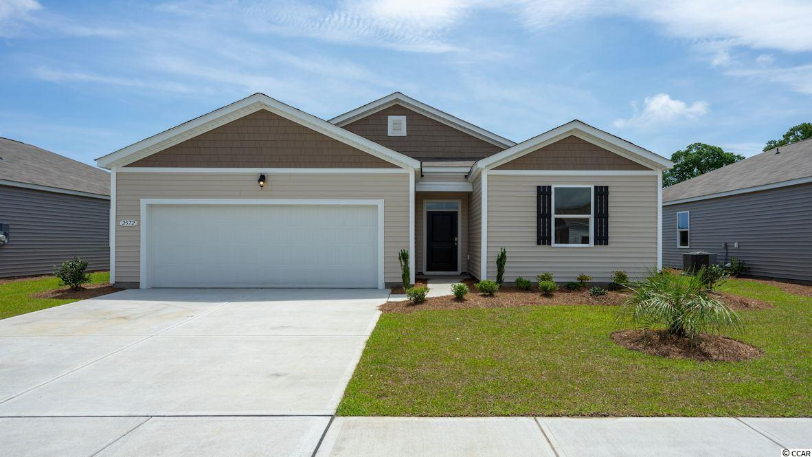 This SMART HOME is adorable 1 level open-concept MOVE IN READY MARCH Enjoy a large family room, private owners' suite, rear 2-car garage. We are the price-leader for single family homes in Market Common! Our home owners will enjoy a gracious pool, open air amenity center, pickle ball court, walking trails and a short golf cart ride to the beach. Live like you're on vacation! Photos of home are of a model home of same floor plan in another community and are for presentation only.