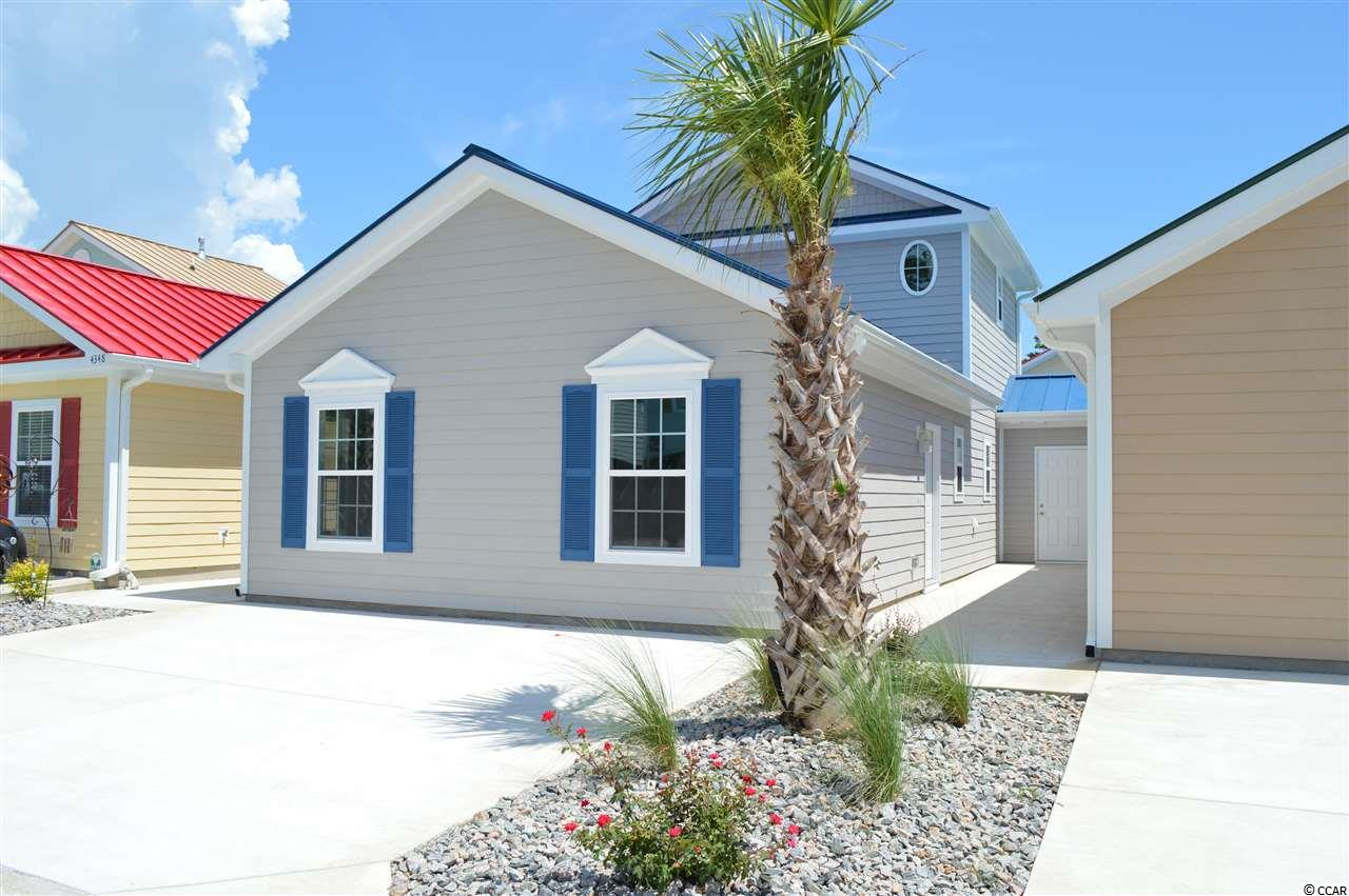 This community has its own dry stack marina and offers discounted marina services to Grande Harbour homeowners! This TO BE BUILT 3 bed/3 bath ground cottage is the last one of this floor plan that we will be building in this phase and is just 5 minutes from the beach in a natural gas community! Features include open floor plan, well appointed kitchen with center island, granite, gray shaker style cabinets with soft close doors & drawers, and stainless steel appliances. This home sits on a corner lot in a cul de sac and offers lots of natural night throughout. Exterior features include hardie plank siding, metal roof, and tankless hot water heater. All of these features are standard items at Grande Harbour so no long price list of upgrade costs here. Your dream of owning a new home close to the beach in a quiet community for a great price just came true! The landscaping, yard maintenance, irrigation, pool, covered picnic area with gas grill, even basic cable, internet, telephone, and security system with basic monitoring is all included in your HOA dues!