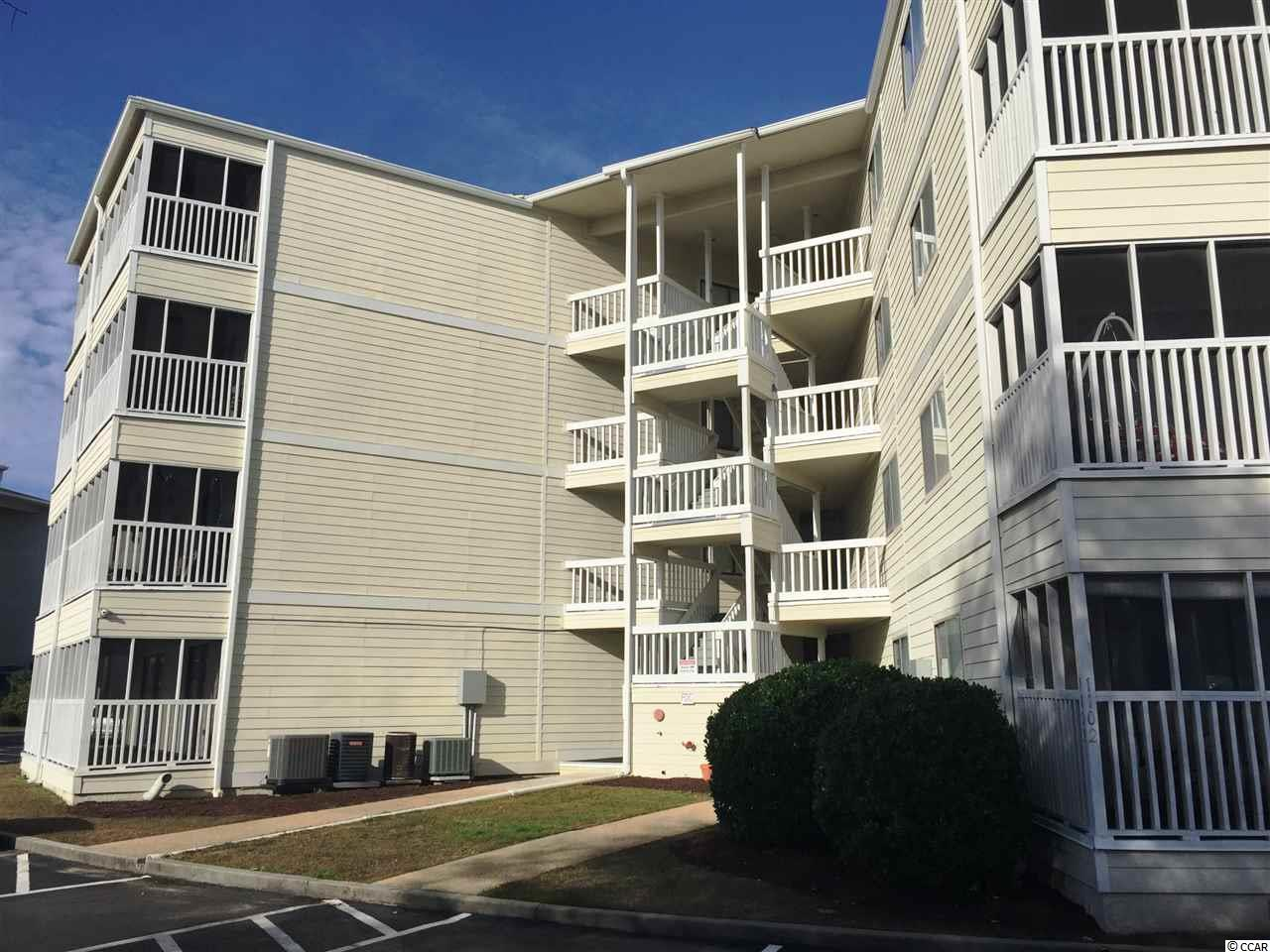 Cute one bedroom with 1 1/2 bath. Marble entrance hallway, and kitchen island. Great second home or income property. Quiet little neighborhood close to the water. Long term rentals allowed. Owner dogs under 30 pounds and motorcycles allowed! Call for your appointment. If your not in town we can do a video tour for you. Find your place at the beach!