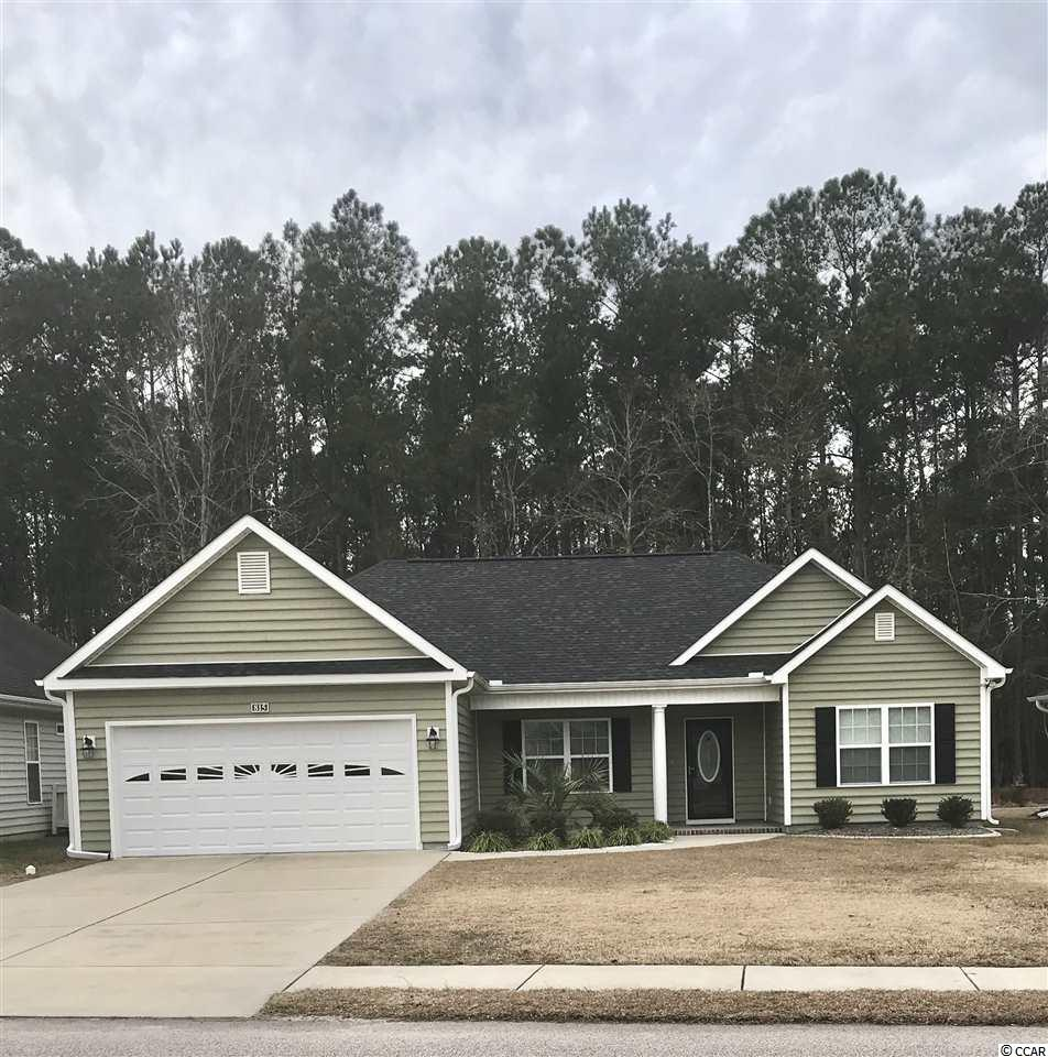 OPEN HOUSE SUNDAY, 2/3/2019 1:00-4:00 This Beautiful Home Is Located In The Quiet And Centrally Located 55+ Community Of Myrtle Trace South. This Split Floor Plan Home Boasts Plenty Of Living Space And Storage. The Spacious Eat-In Kitchen Has Granite Countertops, Stainless Steel Appliances And Beautiful Cabinetry. The Master Bedroom Is Carpeted And Has A Tray Ceiling With Crown Molding And Ceiling Fan. The EnSuite Master Bath Has Double Vanity Sinks, Walkin Closet, Garden Tub And Shower. The Additional 2 Bedrooms Are Spacious With Plenty Of Closet Space. In the Main Living Room, You Will Find Vaulted Ceilings, Ceiling Fan, Lovely Wood Flooring And An Adjacent Formal Dining Area With Tray Ceiling And Crown Molding. Access The Screened In Porch From The Living Room Through Sliding Glass Doors. You Can Enjoy The Beautiful SC Weather And Scenery Of The Backyard From The Screened In Porch Or The Adjacent Patio. The 2 Car Garage Is Spacious And Has Shelving. New Maytag Washer/Dryer Convey, New Refrigerator, New Storm Door, And New Screened Gutters Installed. This Home Has Had Only 1 Owner, Who Lives In The Home Approximately 4 Months Out Of The Year And Has Never Been Rented. Property was built in 2015 And Still Presents As Nice As New Construction. HOA Fee Does Include Basic Lawn Maintenance Of The Property. Close To Shopping/Outlets, Dining, Medical Facilities, Burning Ridge Golf Course, And Historic Downtown Conway. Easy Access To Hwys 501, 544 & 31 A Must See!! All Measurements Are Approximate And Should Be Verified By Buyer.
