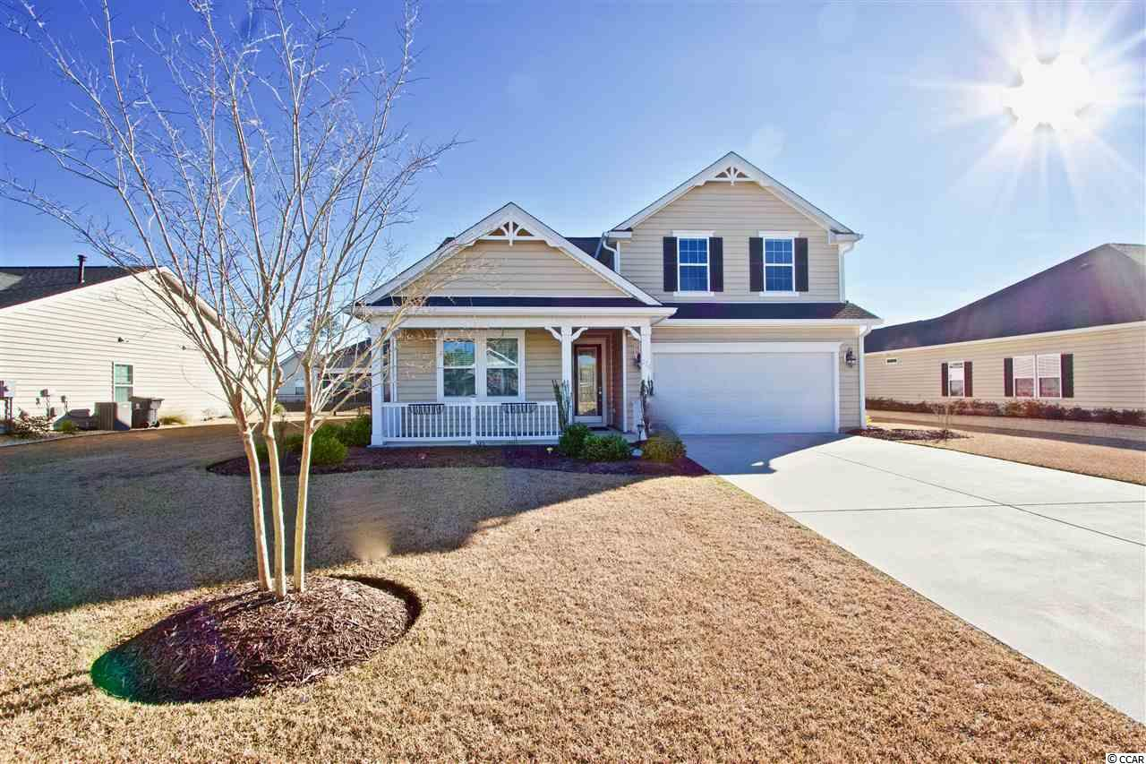 Welcome to this beautiful move-in-ready home located in the highly sough out neighborhood of Brookfield Estates in The International Club in Murrells Inlet. This home is the Crape Myrtle floor plan providing a large open kitchen and living space along with a large master suite. The home has hardwood and crown molding through out the main living areas, tile in the wet areas and carpet in the bedrooms. The kitchen provides optimal storage along with granite counter tops and stainless steel appliances. Upstairs you will find a large bonus room with a bathroom.  This home also features a screened in porch out back perfect for enjoying the beautiful South Carolina weather all year long. This community is one of the few all natural gas communities in the area. Brookfield Estates  is located near all the shopping, dining and golf that the area has to offer! Be sure to check out this wonderful home today!