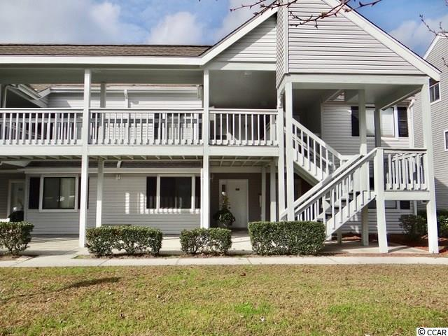 First Floor 2 bedroom 2 bath condo in Golf Colony Resort of Surfside Beach, SC. 29575. Great for weekend retreat to the beach or permanent residence. Only 1.2 miles from the Atlantic Ocean. Open floor plan for comfortable living. Sliding glass doors from living area opens into a screen porch that overlooks the pool. Quite area of Golf Colony. Call your real estate agent today to see this desirable condo.
