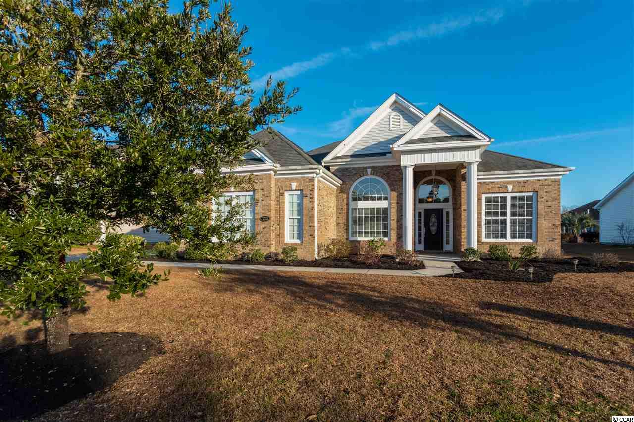 Open Houses: May 4th -1 to 4, May 6, 7, 8, & 9th -10 to 1 and May 10 & 11th -4 to 7. Beautiful ranch home like New! 3 Bedrooms, 2.5 Baths, Office and Bonus Room. Open floor plan with large living space. Large kitchen with island and bar -room enough for 5 or more barstools. Stainless Steel appliances including the refrigerator. Corian countertops, tile floors and walk in pantry. Living room has a double sided fireplace with bonus space over looking pond. Brick front with a side load garage. New hot-water heater. This is a must see property.