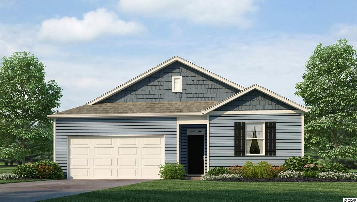 MOVE IN READY APRIL 2019! This model is a brand new DR HORTON floor Plan! It offers a split bedrooms that lends to privacy, open concept and abundant kitchen with a large granite island that overlooks the family room. Not only BEAUTIFUL, , this plan is SMART too! See who is ringing your doorbell, lock/unlock your door, control the thermostat all from your smart phone! The home comes included with stainless appliances including refrigerator washer and dryer. Solid surface floors throughout the home except carpet in the bedrooms. Enjoy the covered back porch We are the price-leader for single family homes in Market Common! Our home owners will enjoy a gracious pool, open air amenity center, pickle ball court, walking trails and a short golf cart ride to the beach. Live like you're on vacation! Photos of home are of a model home of same floor plan in another community and are for presentation only.