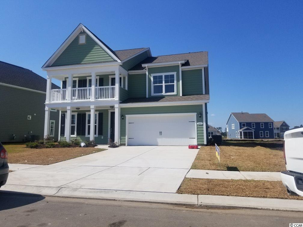 The Summit at Meridian is a new community and will offer 200-300 new homes, featuring 11 floor plans both ranch and two story homes. Our home owners will enjoy a gracious pool and hot tub, air conditioned pickle ball court/meeting space, walking trails, and a short golf cart ride to the shops and dining in the Market Common area and the beach. Live like you're on vacation!    Photos of home are of a model home of same floor plan in another community and are for presentation only.