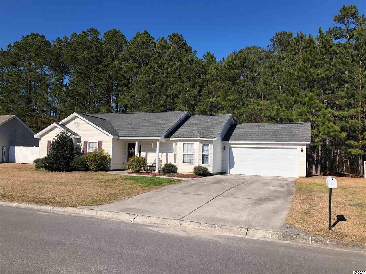 Quiet neighborhood located off of 707 in Murrells Inlet.  Short drive to grocery store, beach, post office and other attractions.  Permanent residence or use for annual rental.  Presently leased.