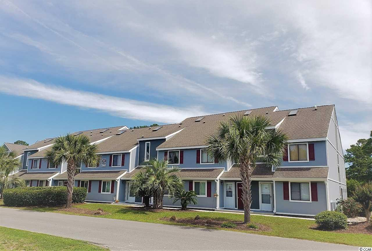 """Be the proud owner of the cutest condo in Surfside Beach! This 2nd floor unit is clean and bright, with a balcony overlooking the gated pool and hot tub for these 3 buildings. For a one bedroom, WOW!! Its HUGE and spacious. Half bath in hall for guests. This """"colony"""" is one of the few that uses Geo-Thermal heating for the pool and has the added bonus of a hot tub can be used all year long! Inside this condo, the owners have kept it very well maintained and has special feature water filtration in the sink and shower head. All kitchen appliances stay, as do washer & dryer. Unit was cleaned, carpets cleaned and recently painted. Head right out of Deerfield to Surfside Beach in minutes, or relax at MB State Park down the road ~ You are super close to all restaurants, shopping & attractions, but the peace and nature at Golf Colony will make you feel comfortable not congested! Very easy to see, contact your Realtor today ~ before someone else does!"""