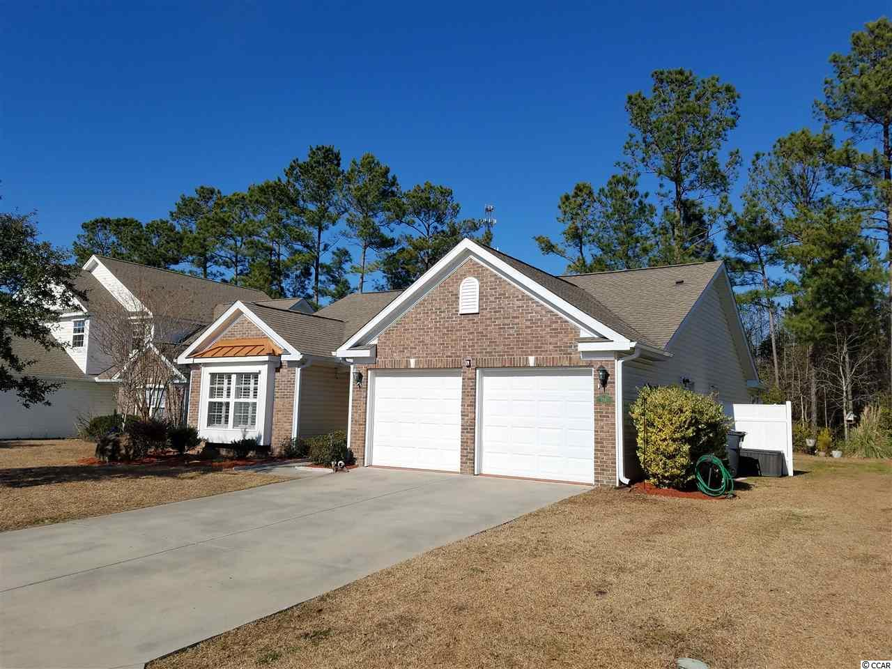 Beautiful home in Carolina Crossing. 3 Bedroom, 2 Bath in well sought after community. Great kitchen over looking the breakfast nook. Separate laundry room. Large community pool! This area is close to shopping and all that North Myrtle Beach has to offer. Only a 10 minute drive to the beach. For those looking for privacy You don't want to miss the opportunity to check out this home. Measurements and square footage are estimated and not guaranteed and should be measured by the buyer. The buyer is responsible for verification