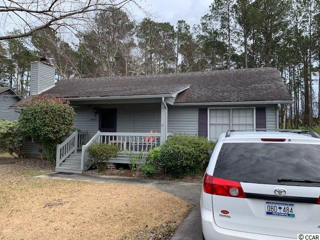 Handy Man Special! Located in gated over 55 community. 2 bedroom/2 bath, fireplace, screened porch overlooking canal.