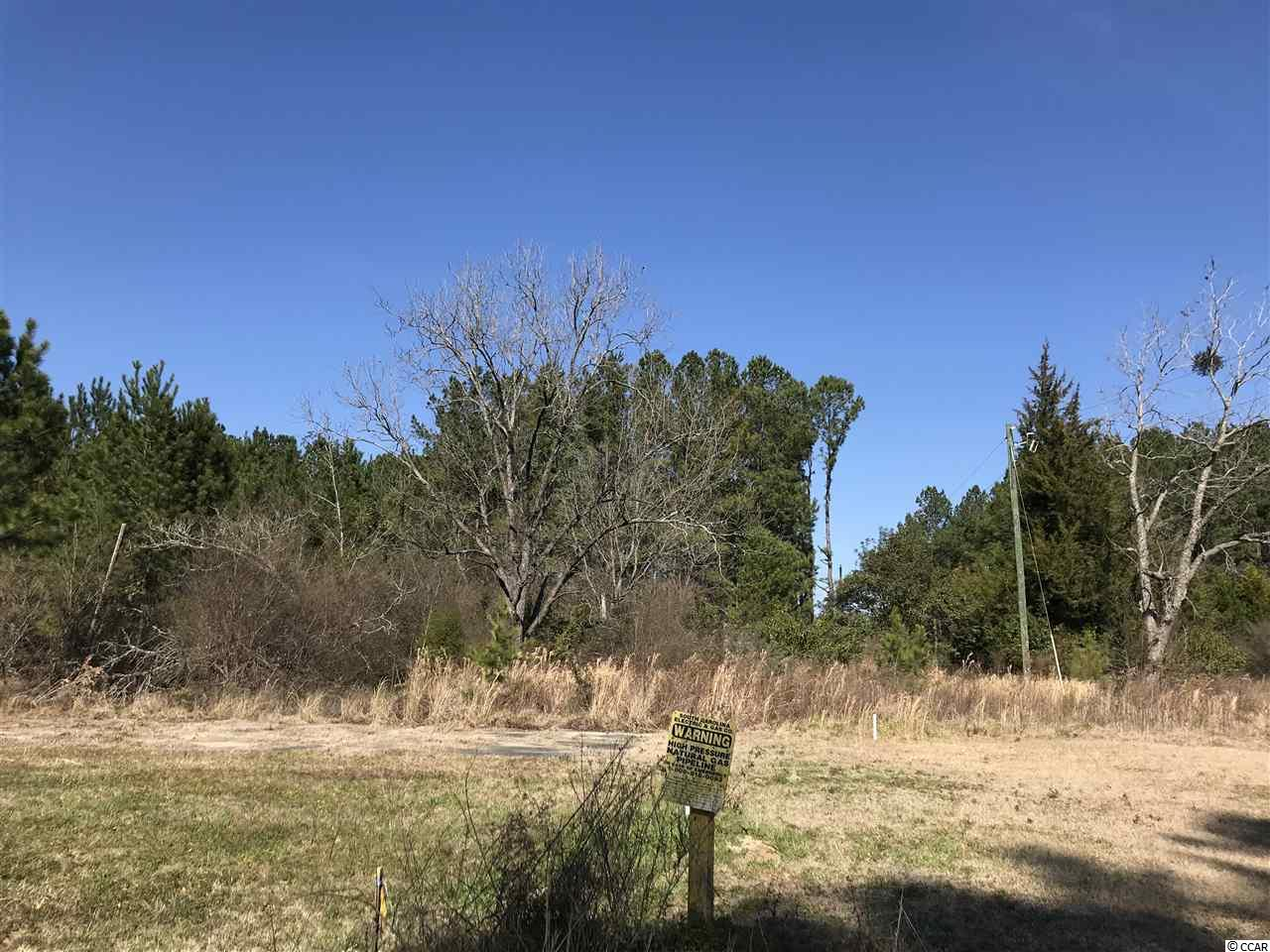 Lot located in a CFA zoning which has intended uses for Commercial, Forestry, residential, cultural, religious, social, agricultural and recreational uses. Please call your agent for a list of acceptable uses.