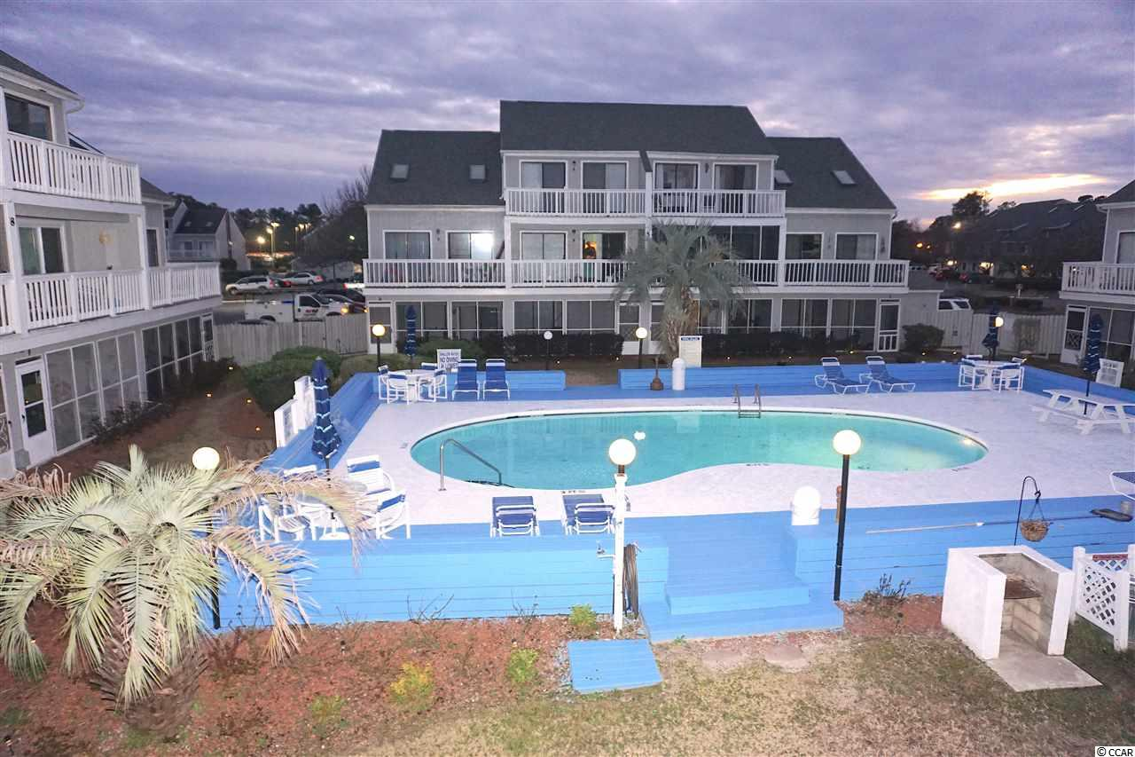 Second floor 2 Bed 2 Bath condo in Baytree Golf Colony. Open floor plan with loft style master including bath and walk in closet. 1 Bedroom located on main level. Full kitchen. Double sliding glass doors to balcony overlooking outdoor pool. Community also has indoor pool great for all seasons. Minutes from local attractions. Conveniently located close to Hwy 17 & Hwy 31. Great for rental property or vacation getaway! As Is Owner will not make any repairs. This is a fixer upper and it is priced accordingly.