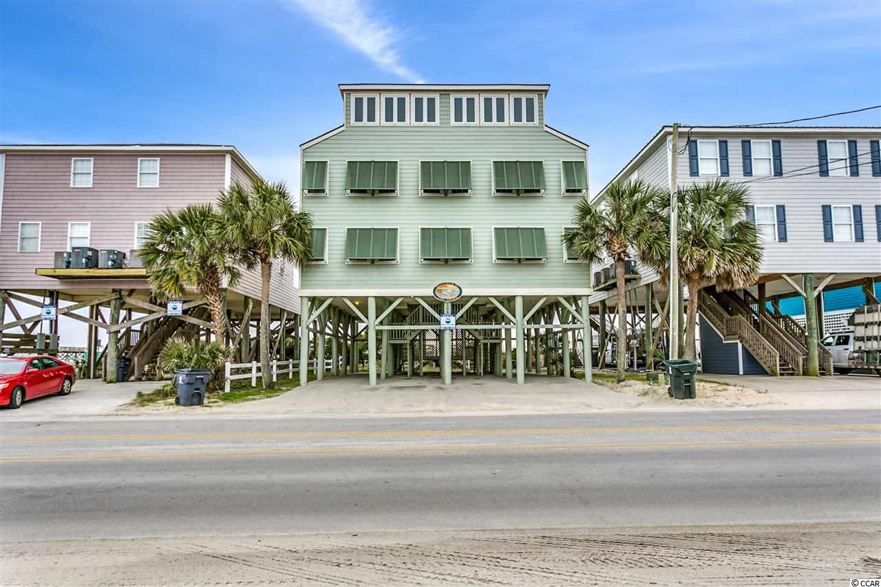 This beautiful oceanfront home comes FULLY FURNISHED!!! It was completely renovated in 2010 down to the studs. In 2014 Both kitchens were completely redone. Carpet is getting replaced throughout entire house in February 2019. New hardwood tile flooring Granite counter tops and brand new cabinets. You have the capacity to rent the entire house and use one side for your personal or enjoy the rental income from both . Some of the features include two beautiful solid hardwood dinning tables. Tile backsplashes in the kitchen. Tile and granite in all bathrooms. Two separate second floor bonus living/game rooms with card tables and foosball. There are a total of 16 flat screen televisions. Ceiling Fans in every room. You will enjoy breathtaking views of the ocean from inside or out. This house has four porches total for maximum viewing pleasure. Outside there is a picnic area with two tables and two stationary grills. When your done at the beach you can take the private walkway right to one of two outdoor showers! Realtor/Owner Related