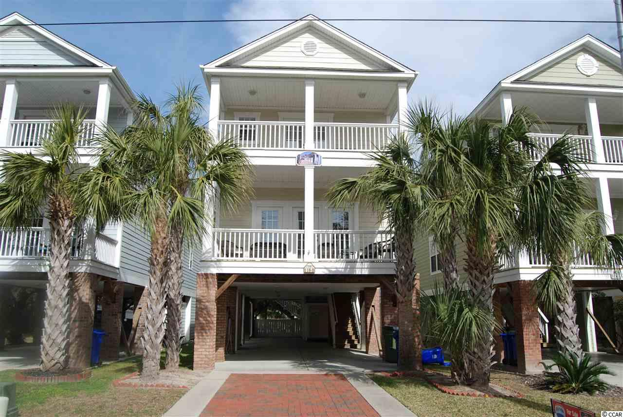 THIS 5 Bd. /5 1/2 Bth. w PRIVATE POOL & Outdoor Shower is Fully Furnished and Equipped as a Turn Key Rental or Second Home Just Steps from the Beautiful Atlantic at Prime Surfside Beach Locaton!!!.RARE 4 BALCONY Beach Home used as a Rental in the past (we have past rental #'s), But Now a Second Home In Excellent condition!!! Each Bedroom has its own Bathroom & Ceiling Fans. Kitchen w/ Granite Counters & Stainless Appliances. Freshly Painted and New Carpet Feb. 2019 . Exterior is low maintenance Hardi-Plank, Pool has custom cover in the off months. Extended wood Deck off pool area canopied by Old Large Mature Live Oak Trees provides a cool summer shade. Parking for 5 vehicles and a golf cart.