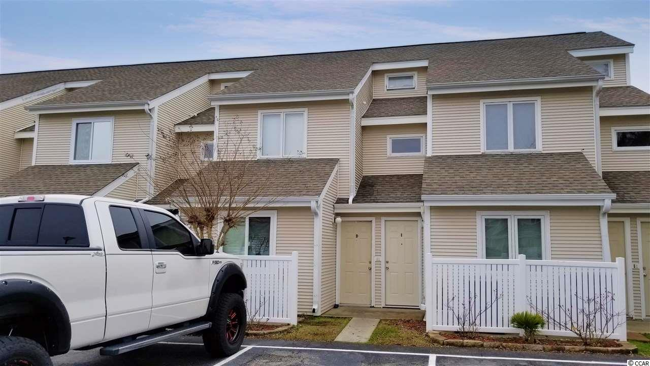 This unit is located within minutes of Surfside Beach and the fishing pier. One of the few properties in the community with a large screened area and back deck overlooking the pond with a fountain. All rooms are on the first level. The kitchen, refrigerator, and stove were recently replaced. Villas On The Green has reasonable HOA dues and a nice sized community pool.