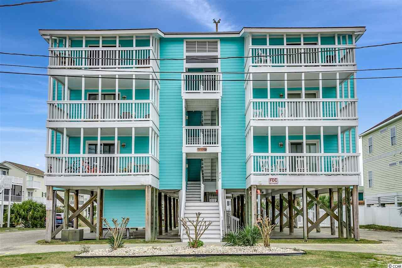 Amazing opportunity to purchase this Gorgeous 2bd/2bth Lake View Condo just steps away from the Atlantic Ocean ! Located in Cherry Grove, Sea Lakes is just a short five block walk from the iconic Cherry Grove Pier. The building recently received new updates- including a new building roof 2016, Hardie Plank exterior in 2015, and a resurfaced pool deck with new fencing around the outdoor pool. The condo has a great split bedroom floor plan offering plenty of space for the family. Recent unit updates include: New stainless steel kitchen appliances 2015, new washer/dryer in May 2015 located in the hallway closet, New HVAC system 2016, and new windows/sliders in 2015. The Master bath has a marble tub with tile walls along with a marble sink. The second bath has a ceramic tub and tiled walls. Pergo wood grain flooring throughout the unit. Enjoy beautiful lake views on the balcony with your morning coffee or evening cocktail. Relax by the pool or go on the beach during the days, and have evening cookouts at the built in BBQ grill & picnic area. Close to dining, shopping, attractions, golf, Cherry Grove Pier, and all of the other wonderful things the Grand Strand has to offer. Cherry Grove is truly the gem of North Myrtle Beach. Call today for a showing !