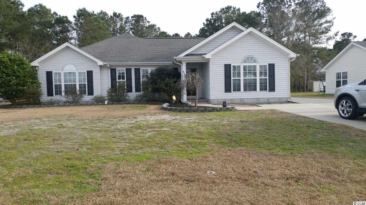 NO HOA FEES!! Ready to move in. Original owner has maintained this home well, featuring extended floor plan on lg lot backed to trees, Brazilian hardwood, 16'X32' Carolina room w/gas fireplace, 18'X18' glass & screened porch, large extended master bedroom, detached 24'X30' garage with 1/2 bath, cabinets & shelves, separate storage shed. HVAC 2018. Plenty of yard to add your own pool, above ground propane tank with extra line for grilling & entertaining, park your RV, buyer responsible for accurate measurements