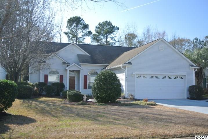 "Drastically Reduced! Perfect ""Beach House"" for vacation style living all year long. Having the square footage of a 3 bedroom home, this home has 2 Masters (both with full bath and walk in closets ) The walk in shower is a nice convenience The cheerful Carolina Room overlooks a peaceful backyard. You can enjoy the outside while being comfortable inside! This well maintained, original owner home is conveniently located within the golf community of Indigo Creek. Ceiling fans thru-out, split floor plan, Hurricane shutters for all windows and all appliances included are a sampling of what this home has to offer. Indigo Creek boasts a low HOA, Community Pool and is only a short drive to the airport, close to the many beaches, restaurants, golf courses, shopping and all of the amenities Myrtle Beach area has to offer."