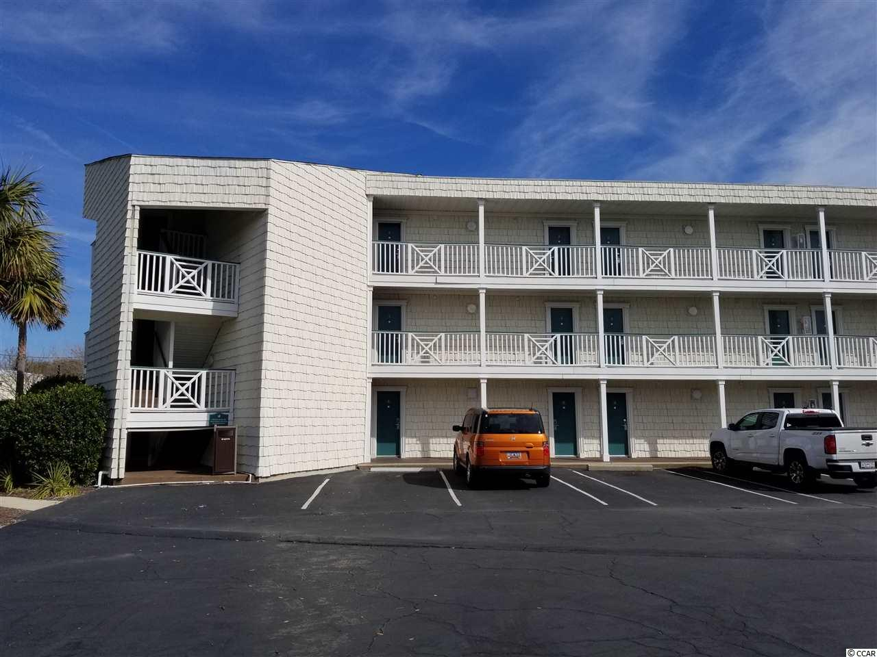 Your place at the beach. 2nd floor with ocean view if you look out of back window between beach houses. Enjoy the swimming pool, restaurant, beach front bar and grill and the ocean. Great beach. Presently on rental program at Litchfield Inn.