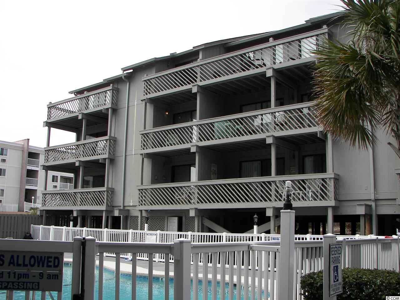 Shipwatch Pointe I H-235 is a 1 bedroom and 1 bath condominium that is being sold furnished. The hot water heater and the HVAC system were replaced in 2017. In addition, new flooring was installed throughout, with the kitchen and the baths featuring Terrgo Tile. The refrigerator and the dishwasher were replaced in 2016. In 2013 all new sheetrock was installed throughout the unit with the ceiling being coated with a smooth finish. All walls were also painted. This villa is located directly across the street from the ocean, which is exactly what most vacationers and owners want, very quick access to the beach. H-235 is a very spacious 600 heated square feet with a balcony that overlooks one of the communities several pools. The balcony enjoys plenty of room for a table and chairs to accommodate everyone that may be staying in this home. There are outdoor pools and whirlpools right on site for the enjoyment of those that do not wish to go down to the ocean. Shipwatch Pointe I is located in the very popular resort destination known as Shore Drive, in the Arcadian section of Myrtle Beach. You can keep your car parked and enjoy grilling, fishing, bicycling, shopping at the Straw Market, dancing the shag at Ocean Annie's, or enjoying one of the best hamburgers on the beach at River City Cafe. For those interested in serious shopping, it is a very short drive to Tanger Outlets, the Myrtle Beach Mall, Barefoot Landing, Broadway at the Beach, the Coastal Grand Mall and The Market Common. Also nearby is wonderful family entertainment like the Carolina Opry, challenging golf, and every kind of restaurant you could desire. Call the listing agent and make your appointment to see this beautiful second home. All measurements are approximate and not guaranteed. Verification is the responsibility of the buyer.