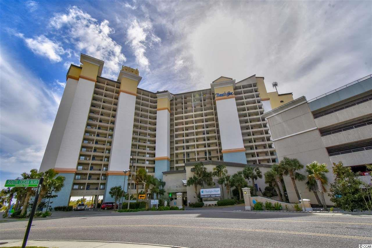 Welcome to this 1 bedroom, 1 bathroom oceanfront condo at the Beach Cove Resort in North Myrtle Beach. This unit is being sold fully furnished. The kitchen is equipped with all appliances, including a refrigerator, microwave, and range. The living room features a sliding glass door leading to the balcony, with miles and miles of ocean views. Enjoy the view from your master bedroom as well, as there is a window that opens to the main living areas. The bedroom includes 2 queen size beds, while the bathroom includes double sink vanity, shower and tub. Beach Cove offers the best amenities, including several outdoor pools, indoor pool, and more. Perfectly situated near all of the Grand Strand's finest dining, shopping, golf, and entertainment attractions. Whether you are looking for an investment property or a vacation get away, you won't want to miss this. Schedule your showing today!