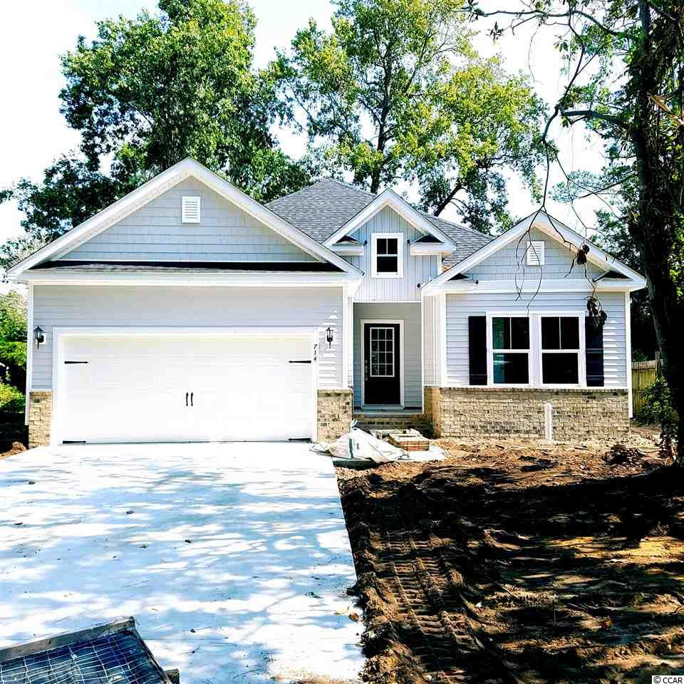 The location has been chosen, the floor plan has been selected, builder is breaking ground SOON, now it's your turn to do the rest!!  This is your chance to let someone else take care of the build, the hassle, and you can have all of the fun with choosing paint colors, granite counter top styling, cabinets, and more in this new construction that is about to break ground in the heart of Surfside Beach - EAST OF HWY 17!!  This will be a gorgeous 3 bedroom 2 bath home with an attached 2 car garage, on a deep lot, and a HUGE 10ft x 17ft screened in back porch to relax in on those warm & breezy summer nights!!  Contact us or your agent for more info, floor plans, etc.