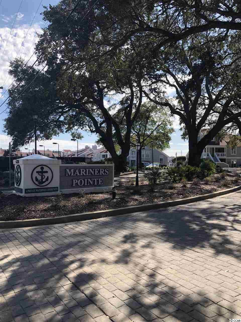 Mariner's Pointe is a beautiful and quaint community that sits right off the Intracoastal Waterway in Little River. Amenities include: on-site dock master, pump out station, storage bin, water, trash, showers, insurance, pool, hot tub, tennis court, basketball court, clubhouse with lounge room, and bar. Electricity is individually metered. Easy access to the Atlantic Ocean (approx. 3 miles). All measurements are approximate and not guaranteed. Buyer is responsible for verification.