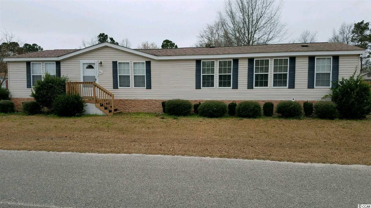 Spacious home on corner lot with land. Open floor plan, 3/2 bath,built in desk area, small deck area,storage shed,paved driveway. Large open kitchen and room for entertaining. Large walk in pantry. New washer/dryer bought Jan.10th,2019. Storage shed included. South end of Murrells Inlet near Marshwalk and restaurant row.