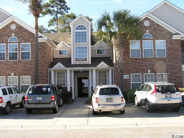 Fantastic opportunity to own this 3BR, 2BA unit in convenient Murrells Inlet location. Light bright open floor plan, large storage area, kitchen with lots of counter space, Master bedroom features 2 walk-in closets and a dressing area leading to the spacious master bath with double sinks, a garden tub and walk-in shower. Screened porch (balcony) off middle bedroom perfect for your morning coffee. 2-guest bedrooms with a guest bath with tub/shower combination and a laundry room complete with washer and dryer connection. All window treatments and appliances convey except washer and dryer. Located within a short distance to community pool. Close to shopping, restaurants, Tidelands (formerly Waccamaw) Hospital, Huntington Beach State Park, Murrells Inlet Marsh Walk and, of course, many golf courses and the beach. See today!!