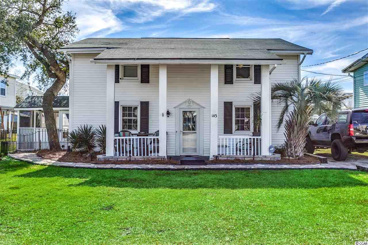 Rare opportunity to own property in the vacation rental district in Garden City Beach only a few hundred feet from the blue Atlantic. This 5BR/2.5BA home is a potential fixer upper or investment in a desirable location. All information is deemed reliable but not guaranteed. Buyer is responsible for verification.