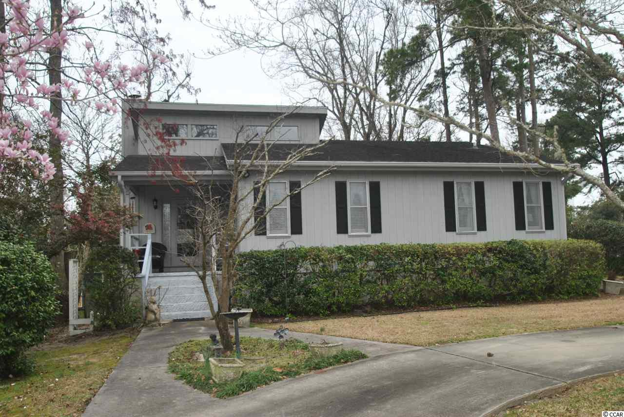 Great traditional home in North Myrtle Beach. This home has a large walk-out basement- a rare find in this area. An easy golf cart ride to the beach. Full size lot. Close to shopping, restaurants, entertainment and all that the Grand Strand has to offer.