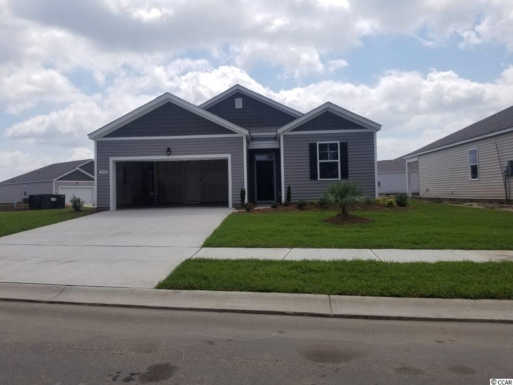 This adorable open-concept 1-level plan! Enjoy a large family room, private owner's suite, and 2-car garage. Kitchen features staggered cabinets, granite counter tops, stainless steel appliances.
