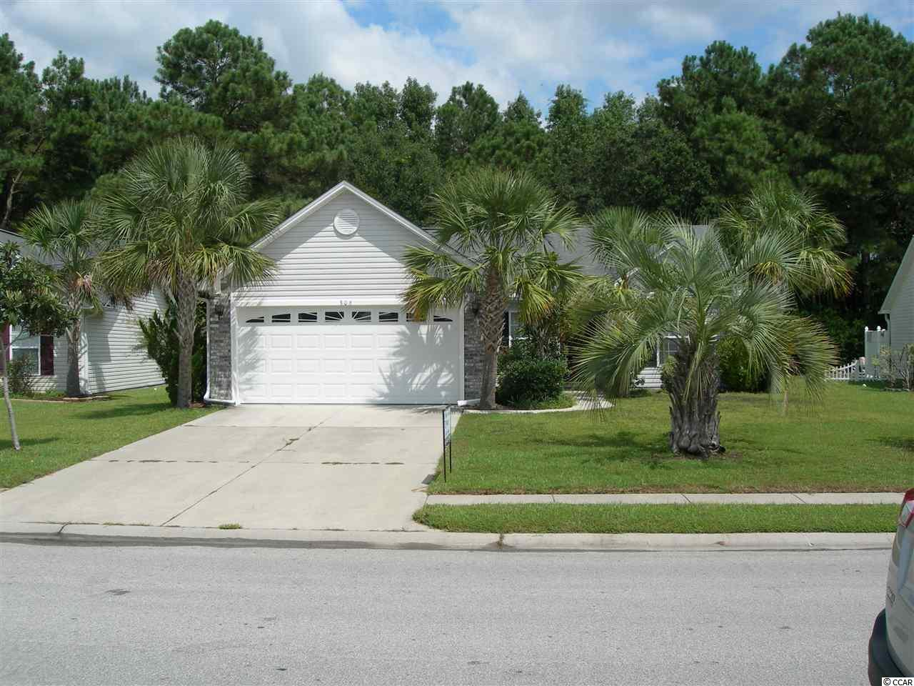 Great location in Little River, SC! 3 BR - 2 BA with 2 car garage for ample parking and storage shelves. Minutes to the bars and restaurants at Minneola waterfront plus other great restaurants and groceries stores. Near the Little River fishing village. Just a few minutes to the Cherry Grove beach. Enjoy great beach music and multiple Summer events on Main Street in North Myrtle Beach. Shag capital of the world is also here for all those who like to shag the night away. La Belle Amie vineyard has many wine tasting events, dancing, concerts and parties in Little River. Large living room area with split bedrooms on one side and MBR on the other side for privacy, separate laundry room, very light and every room has a window. Home has a sprinkler system and well as an electronic pet fence (but never used either) Very private back yard with 13' of 6' walls on either side, the back is cleared with a horse shoe court. Some low maintenance landscaping all around the home with seven beautiful palm trees all on a larger nearly a third acre. Very quiet evenings with street lights if you want to walk at night on the concrete paths on both sides of the road. Amenities include a pool, hot tub and tennis court. Serenity and quiet lot and the kind of privacy few homes can offer. Come and see this lovely property! Great neighbors too! Make this your next primary home or vacation retreat! Square footage is approximate and not guaranteed and must be verified by buyer. Owner is agent. Thanks.