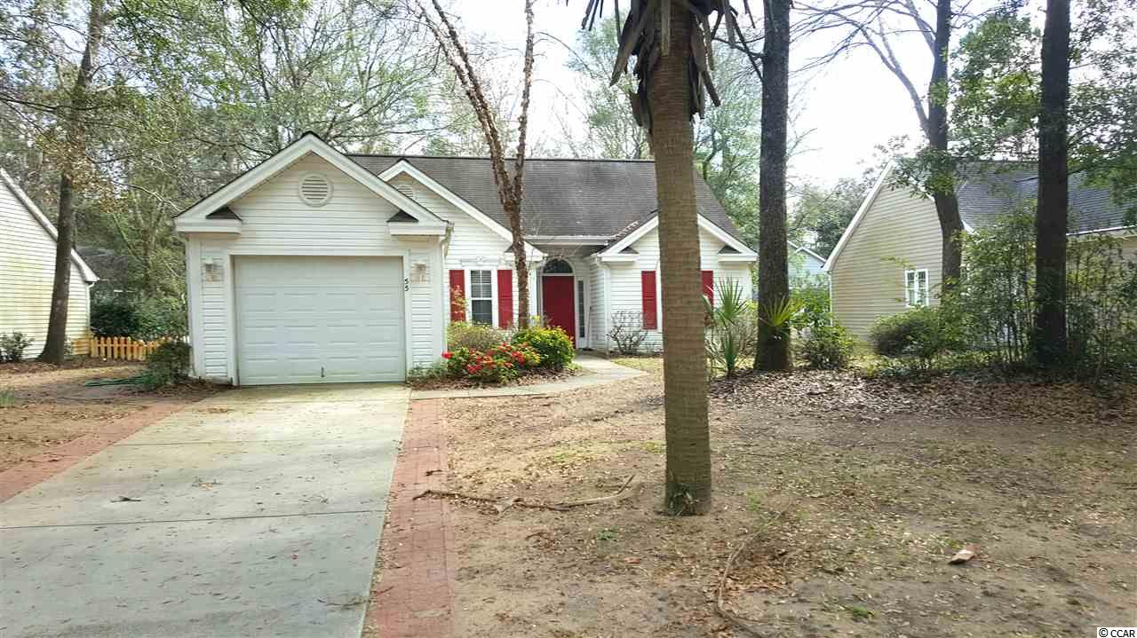 Here's your opportunity to own a piece of Pawleys!  Come see this 2 bedroom, 2 bathroom ranch style home located in the quiet, tucked away community of Rosecrest.  This quaint community boasts mature landscaping, low HOA fees and a short bicycle ride or golf cart ride to the beach! With a little TLC, you can make this home your own; either for a vacation getaway or your permanent residence.