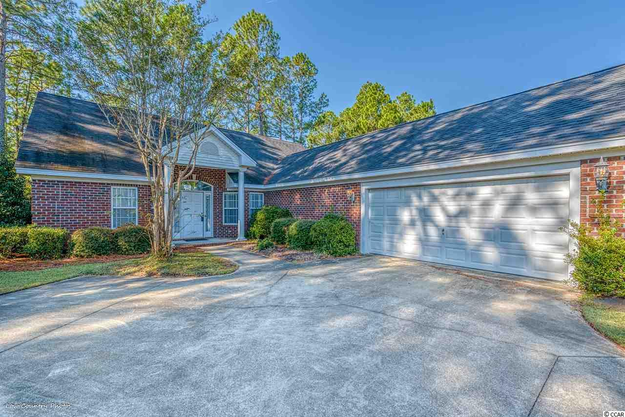 JUST REDUCED. Motivated seller. THIS all brick home is sitting on a 1/3 acre golf course view home site.Four bedrooms or three bedrooms with a flex room attached to the master bedroom wing, which would made a perfect work from office, nursery, sitting room, or a work out room. GREAT BONES.Along with a large living with high ceiling  windows, you also have a family room attached to the eat in kitchen giving a large family tons of space. Two additional bedrooms are on the attached 2 car garage side of the house with second bath. Homes needs updating but seller says bring him a offer. Located at the Legends Resort, Myrtle Beach best kept secret. Three golf course on location, 6 miles to downtown beaches, 3 miles to Carolina Forest shopping.THIS IS A FIXER UPPER. Low taxes, HOA, and insurance. HUGE PRICE REDUCTION, LOWEST PRICE HOME WITHIN PARKLAND @ THE LEGENDS.