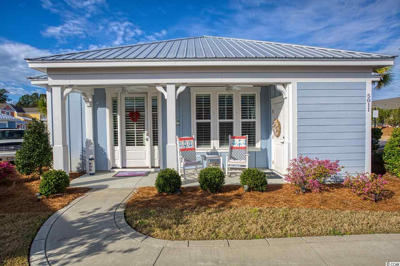 If you have always wanted to own your own slice of heaven in the highly sought after area of North Myrtle Beach, here is your opportunity. This beach bungalow is located in Barefoot Resort in a small community called The Retreat. Its a two bed two bath 1200 heated bungalow equipped with stainless steel appliances. The master bedroom is a nice size along with the roomy tiled shower! The kitchen has granite countertops and updated backsplash to give it a very modern feel. This is perfect spot for those who are looking to be near tons of stuff to do around the area, but also have peace and quiet when desired. The subdivision does have a pool area exclusively for the villas and bungalows in addition to Barefoot resorts pool. Newest development in Barefoot Resort. Barefoot amenities including the area's largest saltwater swimming pool, golf, bike trails, and walking paths, golf cart ride to the beach. Barefoot's resort living offers four world class golf courses, two club houses, driving range, marina, on site restaurants. You will never have nothing to do! Definitely check out the area and this bungalow as you will not be disappointed.